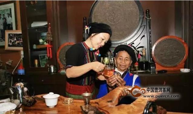 普洱茶,布朗族人不可分割的宝贵财富