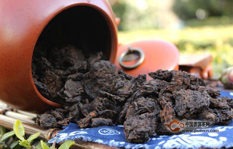 普洱老茶头功效有哪些?
