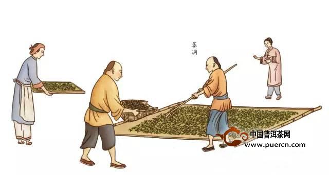 时间红茶的制作过程