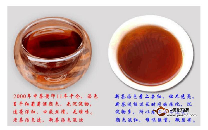 真假中茶黄印辨认【图片】