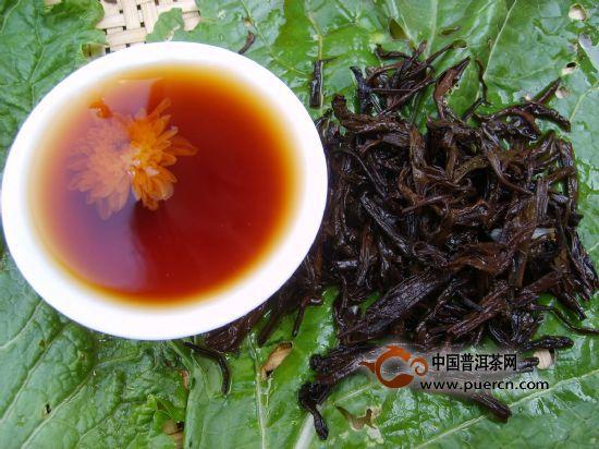 菊花普洱茶的功效与作用