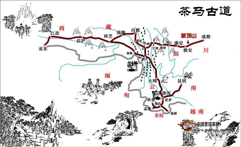 Image result for 茶马古道