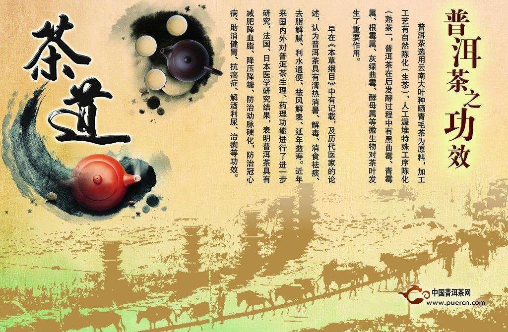 看古籍药典是如何讲述普洱茶功效的!