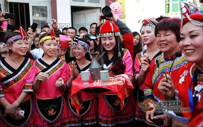 畲族敬茶舞