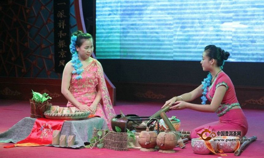 带您了解傣族饮普洱竹筒茶风俗习惯