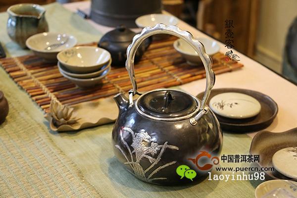 「银壶日记」你不知道的茶席设计秘密