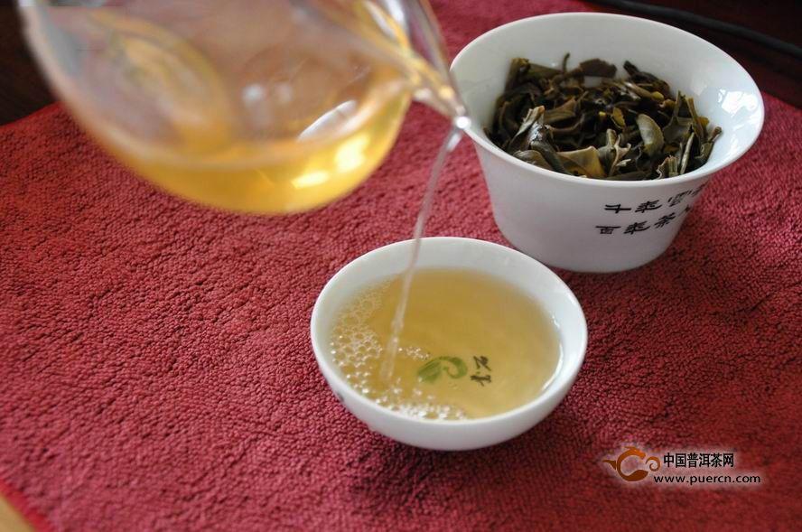 普洱茶古树纯料的冲泡建议