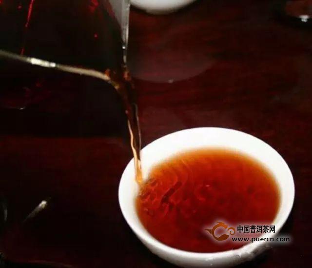 漂亮的普洱茶汤具体的特征