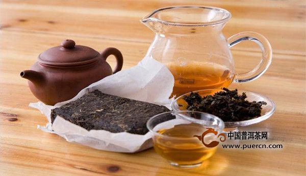 安化黑茶的冲泡方法及步骤