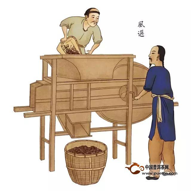 祁红传统手工制作流程图 - 茶叶制作过程_为您介绍_的