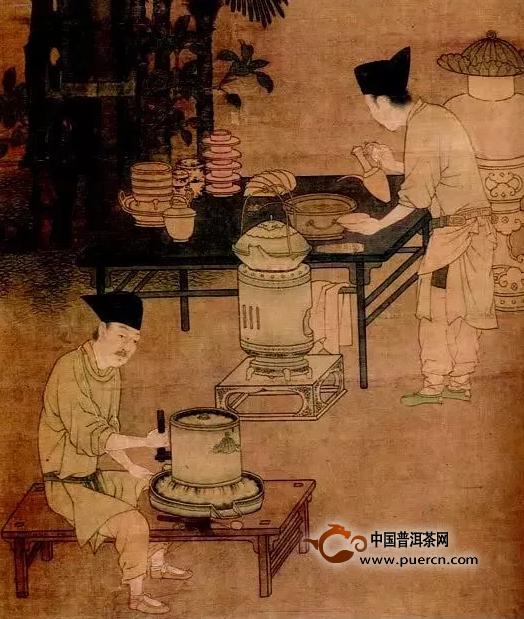 唐宋年间的煎茶与点茶法原来是这样的