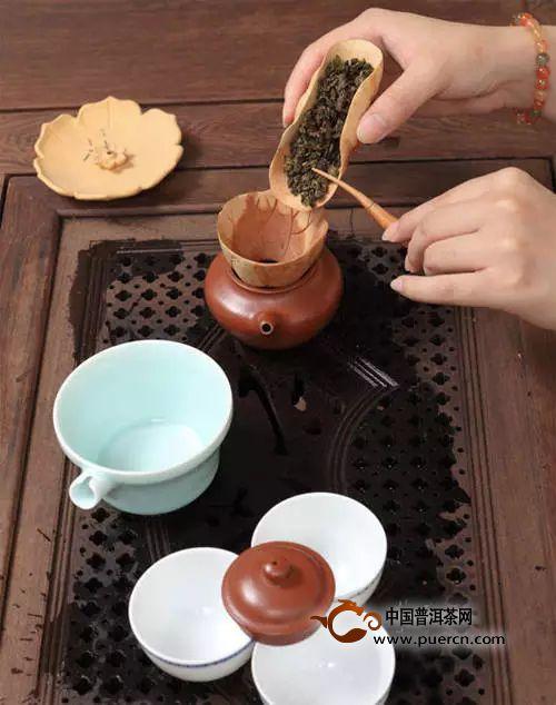 茶道全流程马龙入宫