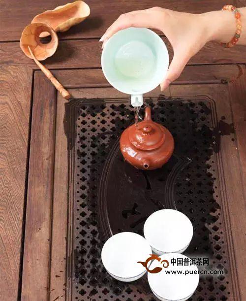 茶道全流程洗茶