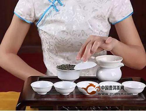 茶道全流程春风拂面