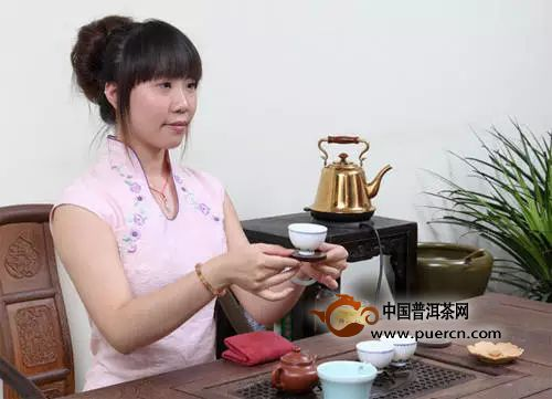 茶道全流程奉茶