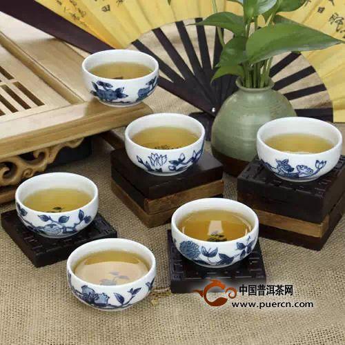 茶道全流程品茗