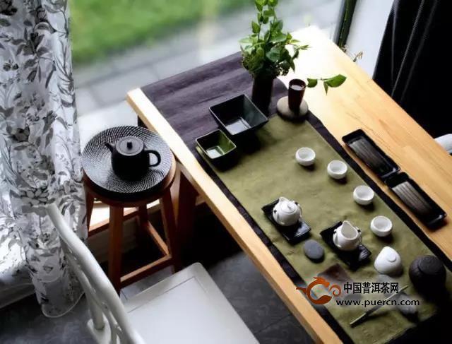 摆一桌优美的茶席,品一份安详与恬静!