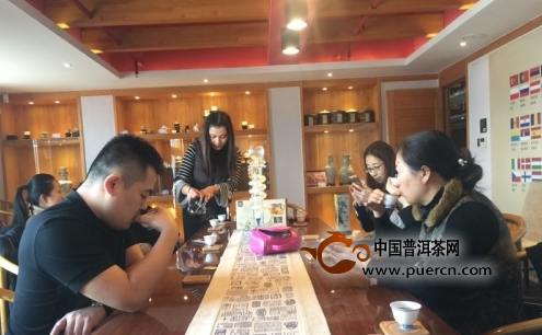 探访茶膏文化 青岛鹏岳茶城引领岛城高端茶文化市场