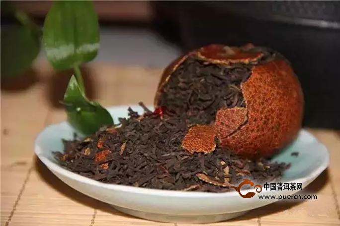 陈皮普洱茶的功效和禁忌?