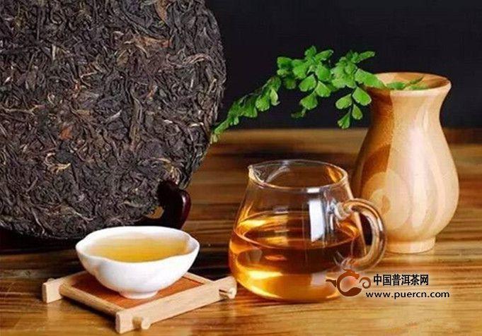 陈年普洱茶什么味道