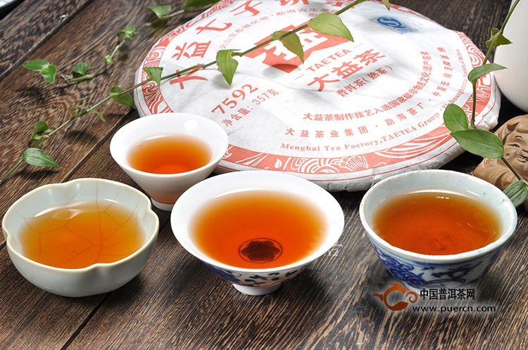 大益7592熟茶的故事