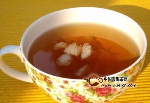 生姜泡红茶的功效