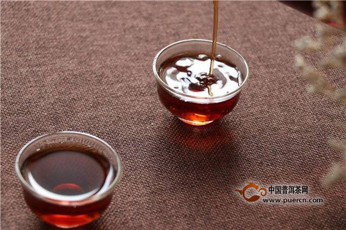 宫廷普洱茶品质特征