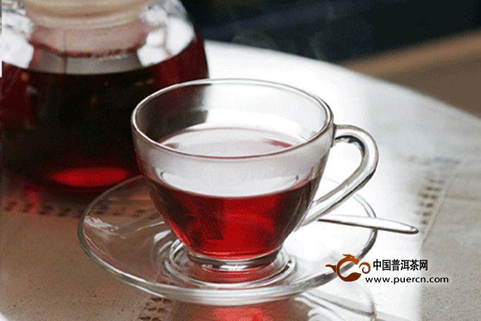 女人喝云南普洱茶的成果