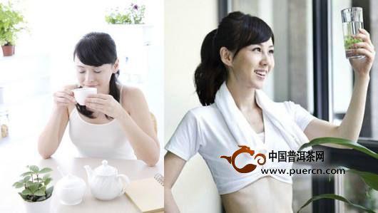 女性喝绿茶的美容功效