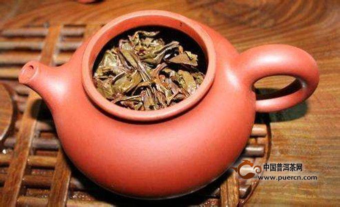 紫砂壶怎么泡普洱茶