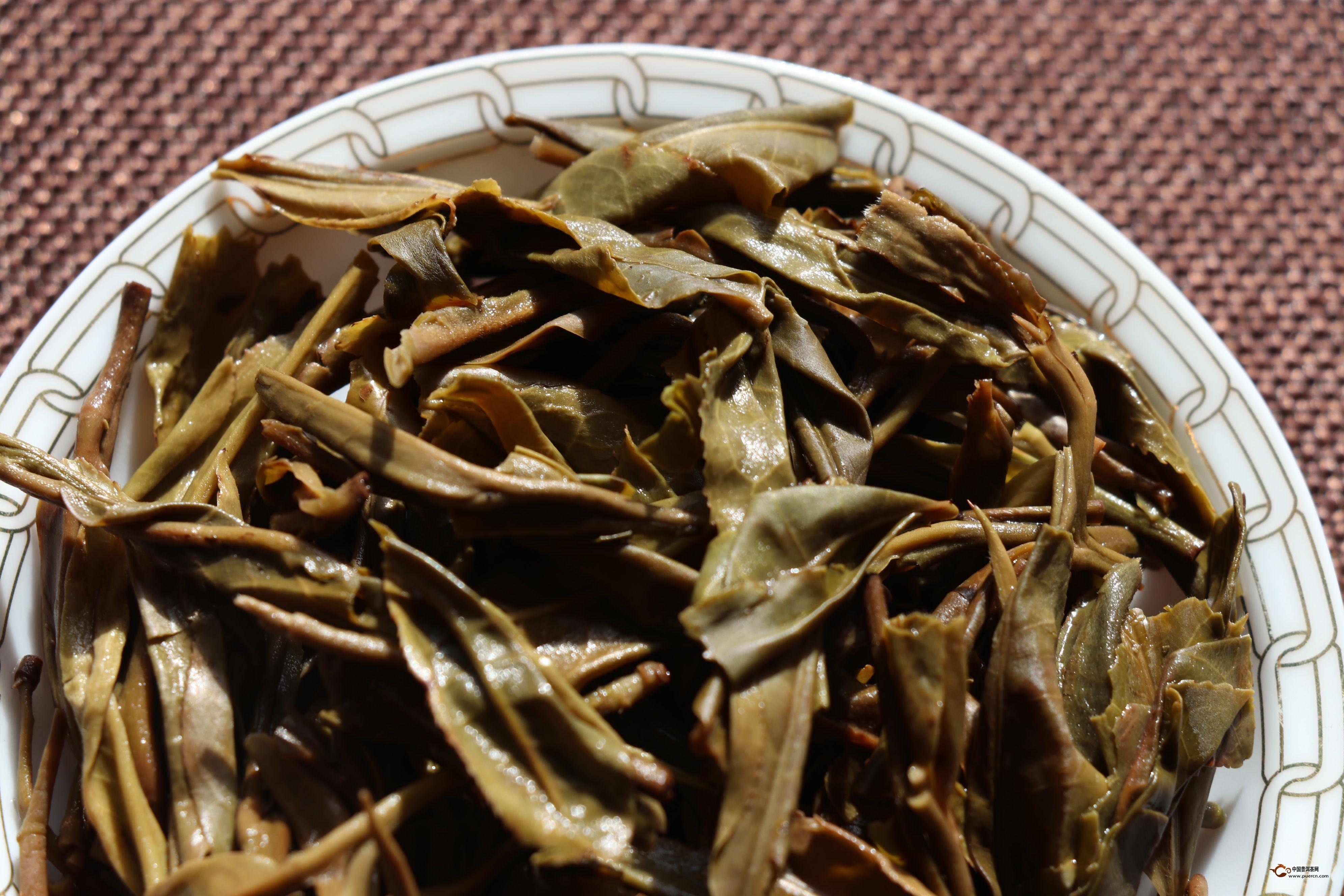 普洱生茶的冲泡步骤(图解)