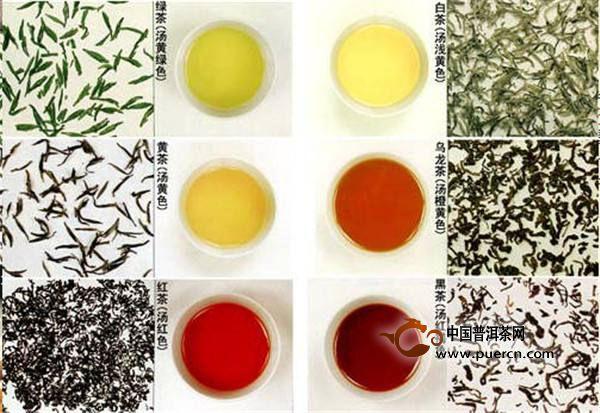 中国六大茶类基本知识
