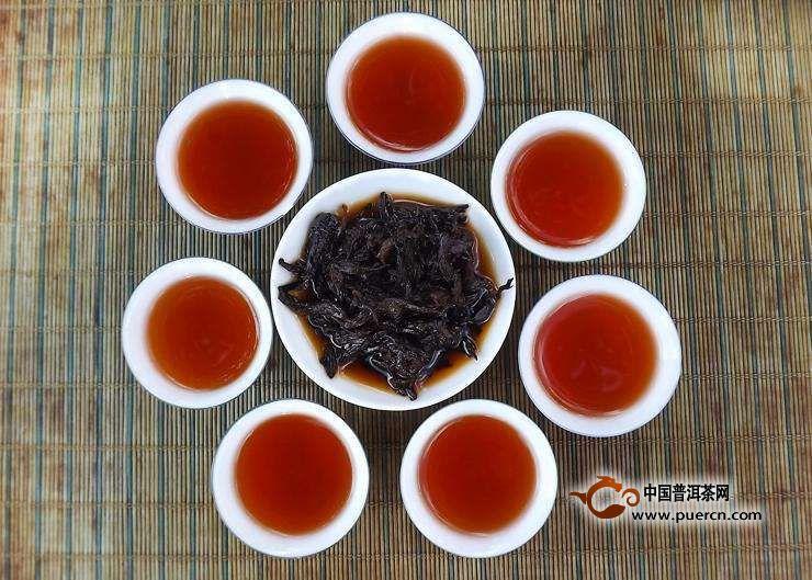 六堡茶的功效和副作用