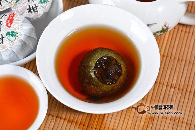 小青柑普洱茶功效