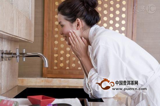 茶叶洗脸的功效与作用