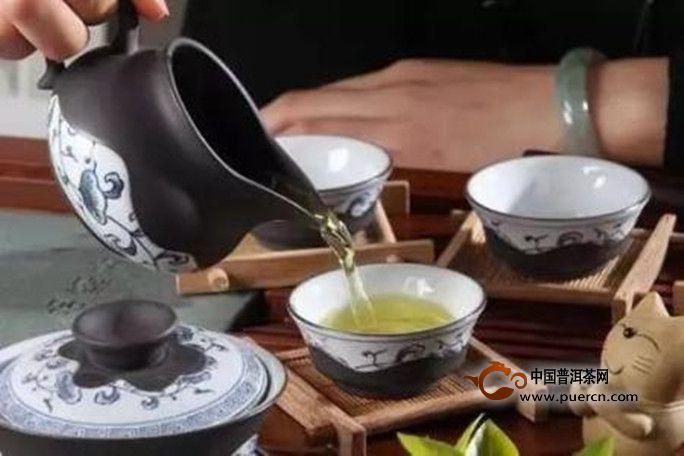 茶泡冲泡步骤