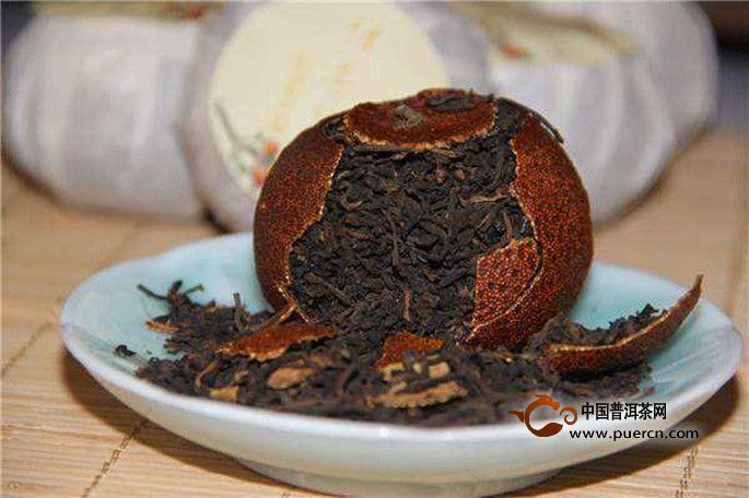 新会柑普茶的养生功效