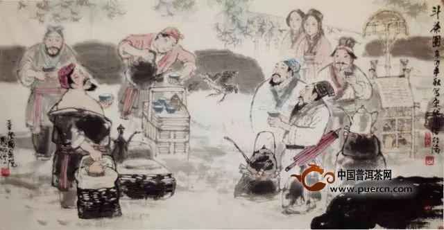 团茶,抹茶,斗茶谱写了中国的茶道