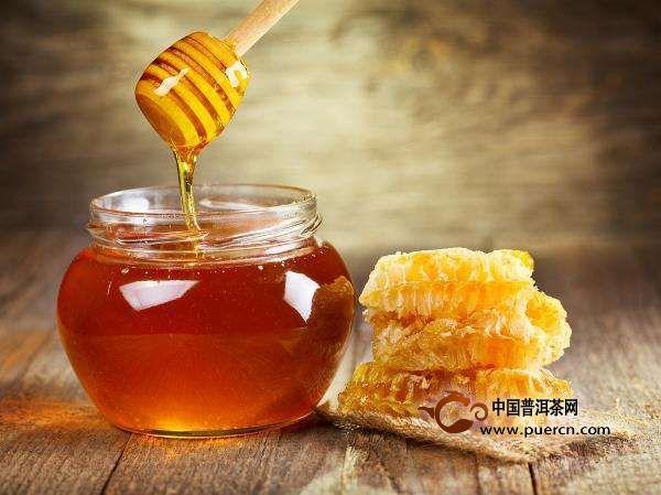 老白茶加蜂蜜的功效