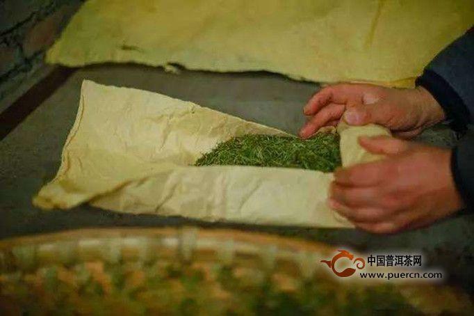 黄茶的初制原理