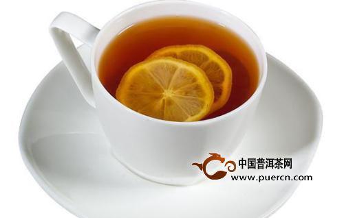 柠檬和红茶一起泡水喝有什么功效