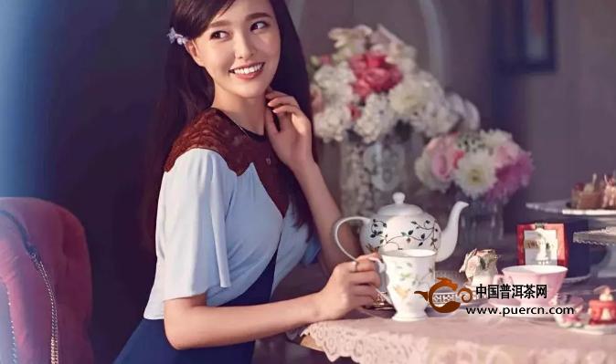不是容颜易老,而是喝茶太少......