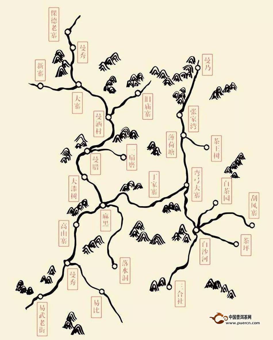 名山名寨普洱茶系列之易武茶区图片