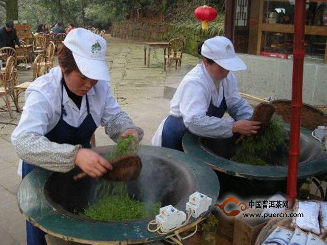 宝顶绿茶采摘工艺
