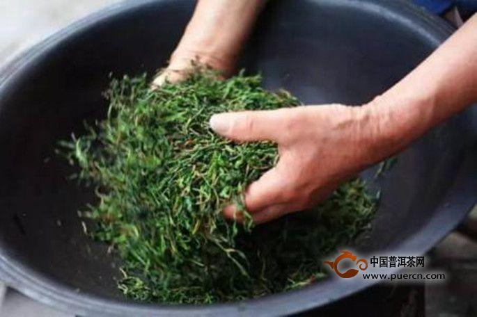 宝顶绿茶工艺特点