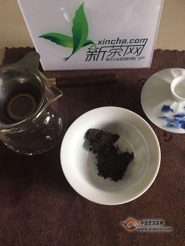 2016年八角亭孔雀茶皇熟茶品饮感受