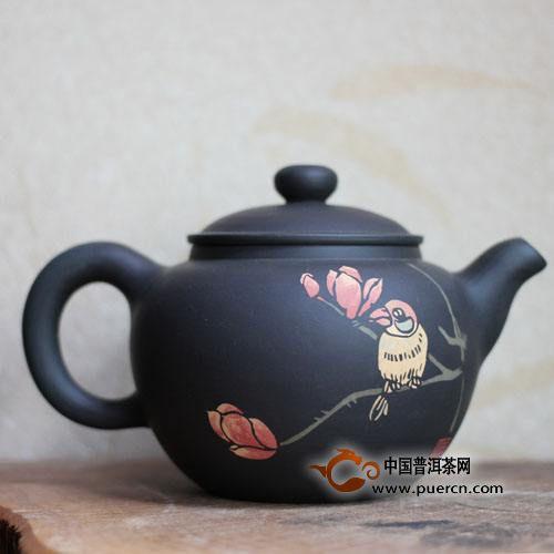 建水紫陶壶泡茶的优点