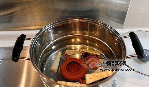 建水陶壶的开壶方法