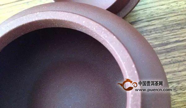 紫砂壶壶口为什么有划痕?