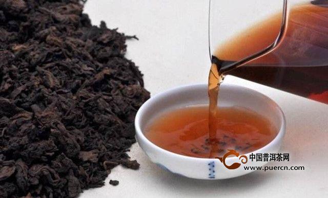 黑茶的保健功效